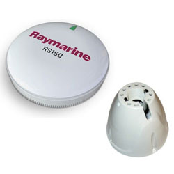 Raymarine Raystar RS150 GPS Antenna with Pole Mount Adapter
