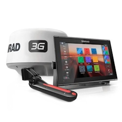 Simrad GO12 XSE Multi-Function Display and 3G Radar Package