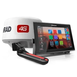 Simrad GO12 XSE Multi-Function Display and 4G Radar Package
