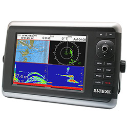 SI-TEX NavStar 10 Hybrid Touch Screen MFD / 4kW Radar Bundle