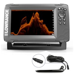 Lowrance Hook<sup>2</sup>-7x Fishfinder / GPS with TripleShot Transducer
