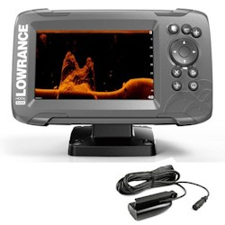 Lowrance Hook<sup>2</sup>-5x Fishfinder / GPS with SplitShot Transducer