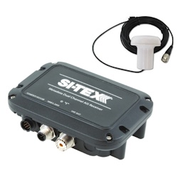 Sitex Metadata Dual Channel AIS Receiver with External GPS Antenna