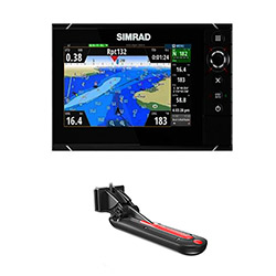 "Simrad NSS7 7"" EVO2 w/ TotalScan Skimmer Fishing Package - REMANUFACTURED"