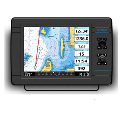 Si-Tex NavPro 1200 Chartpotter with C-Map 4D card