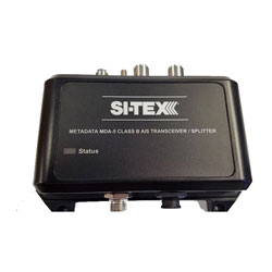 SI-TEX Metadata Class B/SO AIS Transceiver with External GPS Antenna Package