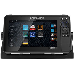 Lowrance HDS-9 LIVE Multifunction Display w/ Transducer - REMAN