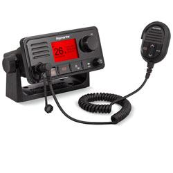 Raymarine Ray73 Dual Station Fixed Mount VHF Radio with GPS and AIS Receiver
