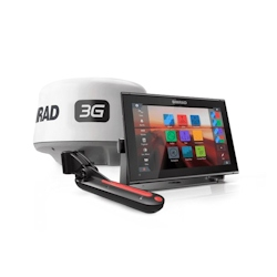 Simrad GO12 XSE Display w/3G Radar and Active Imaging 3-in-1 Transducer