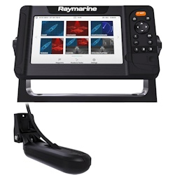 Raymarine Element 7 HV Sonar/GPS w/ LightHouse Chart and Transducer