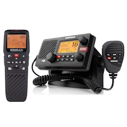 Simrad RS35 Fixed-Mount VHF Radio Package with HS35 Wireless Handset