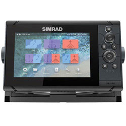 Simrad Cruise 7 w/ US Coastal Chart and Transducer