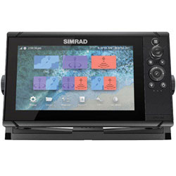 Simrad Cruise 9 w/ US Coastal Chart and Transducer