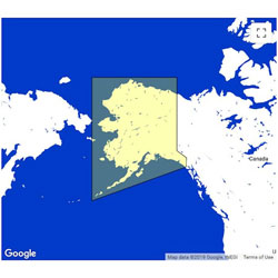 C-MAP WIDE Update ChartRegion: MAXLAKES Alaska
