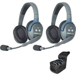 Eartec UltraLITE HD 2-Person Double Ear Cup Headset System