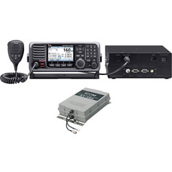 Icom M803 Fixed Mount Marine SSB Radio for Non-SOLAS Vessels - Package