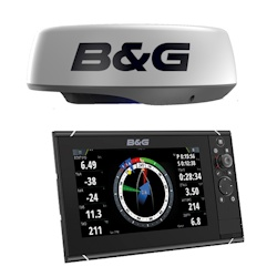 B&G Zeus3 9 Touchscreen Chartplotter with HALO20 Radar