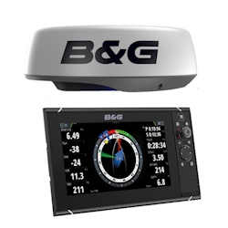 B&G Zeus3 12 Touchscreen Chartplotter with HALO20 Radar