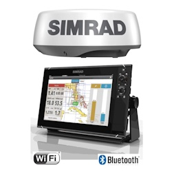Simrad NSS12 evo3 Combo Chartplotter/Built-in Sonar with HALO20 Radar