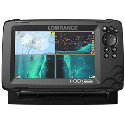 Lowrance Hook Reveal 7X with TripleShot Transducer - 7