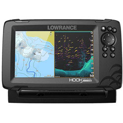Lowrance Hook Reveal 7X Splitshot Transducer - 7