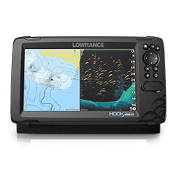 Lowrance HOOK Reveal 9 with 50/200 HDI CHIRP Transducer - 9