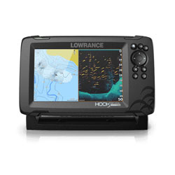 Lowrance HOOK Reveal 7 with SplitShot Transducer - 7