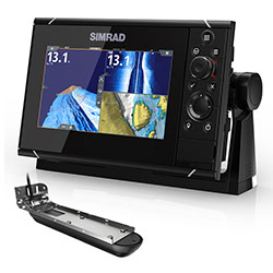 Simrad NSS7 evo3 Chartplotter w/ Active Imaging 3-in-1 Transducer