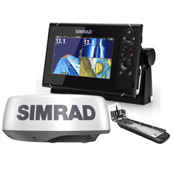 Simrad NSS7 evo3 Chartplotter w/ Active Imaging 3-in-1 Transducer and Radar