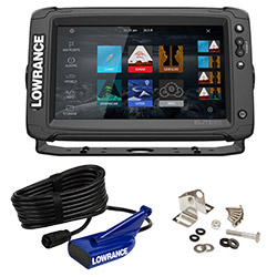 Lowrance  Elite-9 Ti2 Display with HDI xSonic Transducer