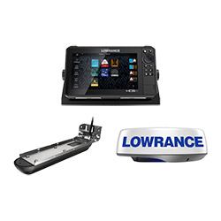 Lowrance HDS-9 Live Reman w/Active Imaging 3-in-1 Transducer and HALO20 Radar