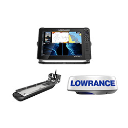 Lowrance HDS-12 Live Reman w/Active Imaging 3-in-1 Transducer and HALO20 Radar