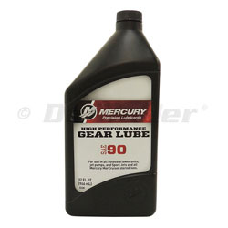 Mercury High Performance Gear Lube+