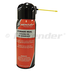 Mercury Storage Seal Rust Inhibitor / Fogging Oil