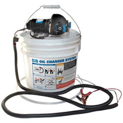 Jabsco Self-Contained Oil Changing System