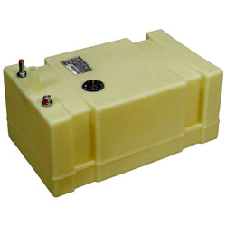 Moeller Low Perm Permanent Below Deck Fuel Tank - 19 Gallon
