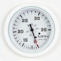 SeaStar Solutions Arctic Series 35 MPH Speedometer Kit