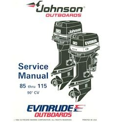 Johnson / Evinrude Outboards OEM Service Manual