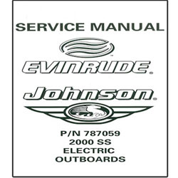 Johnson / Evinrude Electric Outboards OEM Service Manual