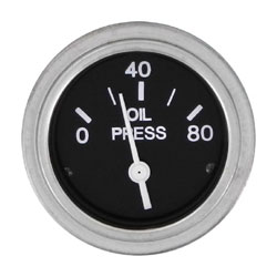 SeaStar Solutions Heavy Duty Series Oil Pressure Gauge