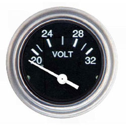 SeaStar Solutions Heavy Duty Series Voltmeter