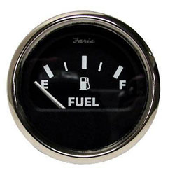Moeller Dash-Mounted Electric Fuel Level Gauge