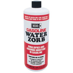 MDR Gasoline Water Zorb Water Absorber - 16 Oz.