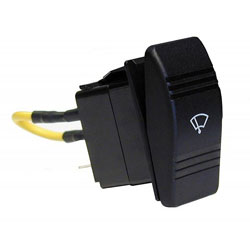 Ongaro Heavy Duty 3-Position Wiper Rocker Switch