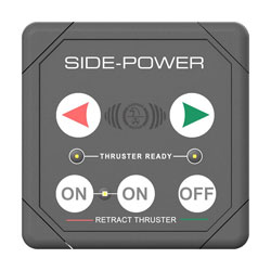 Side-Power Touch Panel