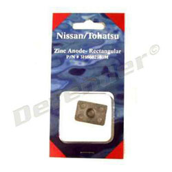 Tohatsu / Nissan Outboard Motor Replacement OEM Sacrificial Anode