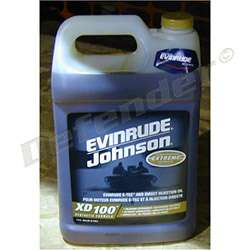 BRP Evinrude XD-100 2-Stroke Engine Oil For Outboard Motors