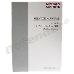 Tohatsu / Nissan OEM Outboard Motor Service Manual