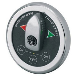 Side-Power Boatpanel Thruster Control