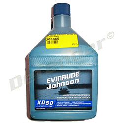 BRP Evinrude XD-50 Synthetic Blend 2-Stroke Marine Engine Oil